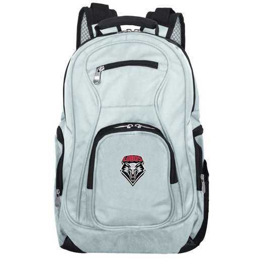 CLNML704-GRAY: NCAA New Mexico Lobos Backpack Laptop
